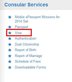Visa簽證